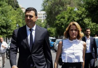 Η κομψή Τζένη Μπαλατσινού έκλεψε τις εντυπώσεις στο προεδρικό μέγαρο  - Κεντρική Εικόνα