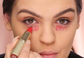 """""""Έξυπνα"""" beauty κολπάκια που μπορείς να κάνεις εύκολα με ένα κόκκινο κραγιόν [βίντεο] - Κεντρική Εικόνα"""