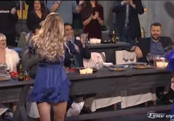 Πρώην παίκτρια του Survivor χόρεψε ένα σέξι τσιφτετέλι στην tv [βίντεο] - Κεντρική Εικόνα