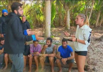 Survivor: Καβγάς ξέσπασε και μεταξύ Δαλάκας και Σίμου [βίντεο] - Κεντρική Εικόνα