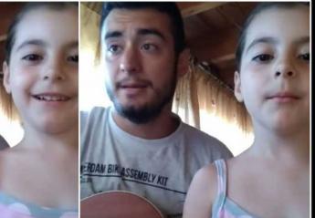 Mια 5χρονη από την Κρήτη έγινε viral με το τραγούδι της [βίντεο] - Κεντρική Εικόνα