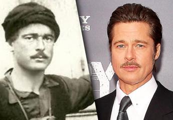 Όλοι μιλούν για τον Κρητικό σωσία του Brad Pitt [εικόνες] - Κεντρική Εικόνα