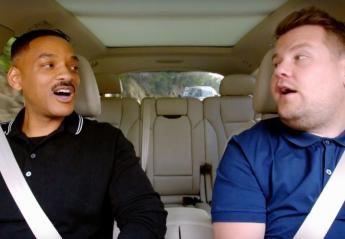 O Will Smith έκανε ένα απολαυστικό carpool karaoke με τον Corden [βίντεο] - Κεντρική Εικόνα