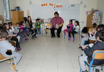 Ένα εργαστήριο κρουστών για τα παιδιά της Φανερωμένης  - Κεντρική Εικόνα