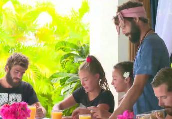 "Survivor: Ενθουσιάστηκαν οι παίκτες που έφαγαν ""φαγητό της μαμάς"" [βίντεο] - Κεντρική Εικόνα"