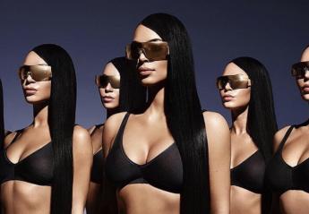 Η Kim Kardashian διαφημίζει γυαλιά και ποζάρει με τους... κλώνους της [εικόνες] - Κεντρική Εικόνα