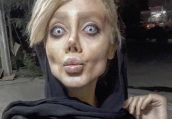 Όχι δεν είναι ζόμπι - Είναι μια που νομίζει πως μοιάζει στην Angelina Jolie - Κεντρική Εικόνα