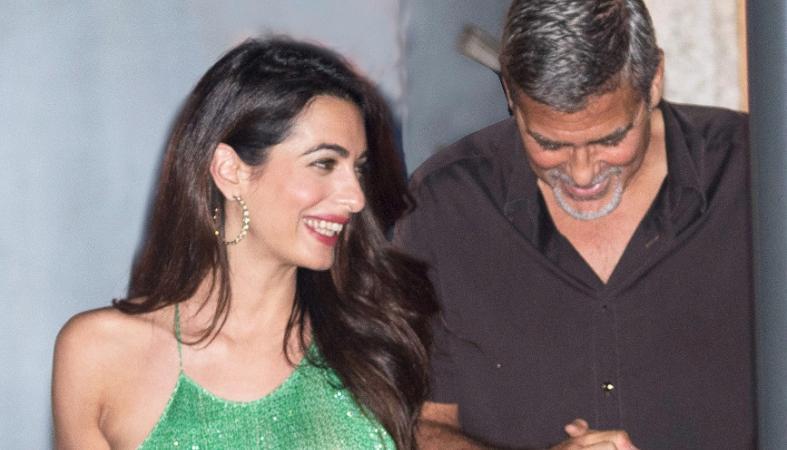 H Amal Clooney πιο όμορφη από ποτέ βγήκε ραντεβού με τον George [εικόνες] - Κεντρική Εικόνα