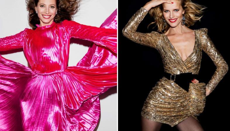 Δύο 40αρες - top models των 90s ποζάρουν στη παριζιάνικη Vogue [εικόνες] - Κεντρική Εικόνα