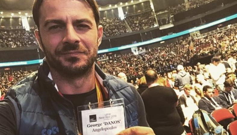O Ντάνος έβγαλε selfie με μια πασίγνωστη σταρ του Χόλιγουντ [εικόνα] - Κεντρική Εικόνα