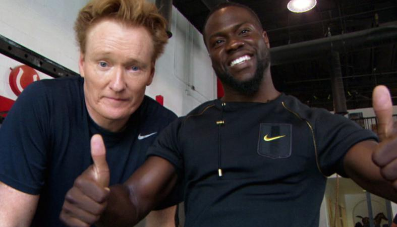 Conan O' Brien και Kevin Hart μοιράζουν γέλιο στο γυμναστήριο [βίντεο] - Κεντρική Εικόνα