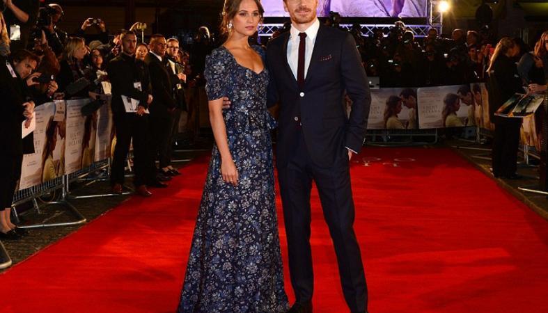 Alicia και Michael: Μαζί στην πρεμιέρα της ταινίας που τους έκανε να ερωτευτούν  [εικόνες] - Κεντρική Εικόνα