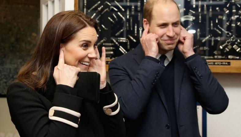 O πρίγκιπας William φοβάται πως αυτός και η Kate θα... ξεκουφαθούν  - Κεντρική Εικόνα