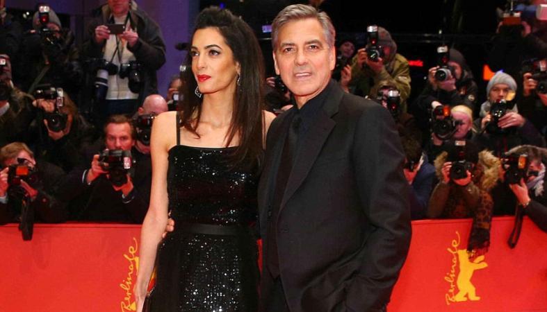Το ζεύγος Clooney έλαμψε στο Βερολίνο [εικόνες] - Κεντρική Εικόνα