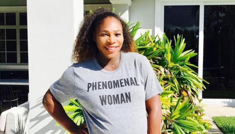 H έγκυος Serena Williams έχει λιγούρες για τα πιο περίεργα πράγματα [βίντεο] - Κεντρική Εικόνα