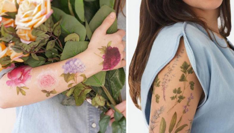 Αρωματικά τατουάζ: η νέα μόδα στα μη μόνιμα τατουάζ [εικόνες] - Κεντρική Εικόνα