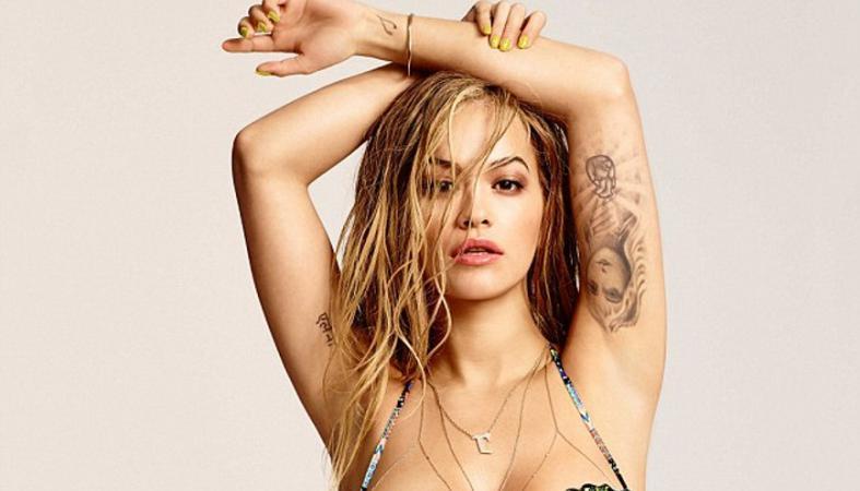 H Rita Ora ποζάρει με σέξι μπικίνι [εικόνες] - Κεντρική Εικόνα