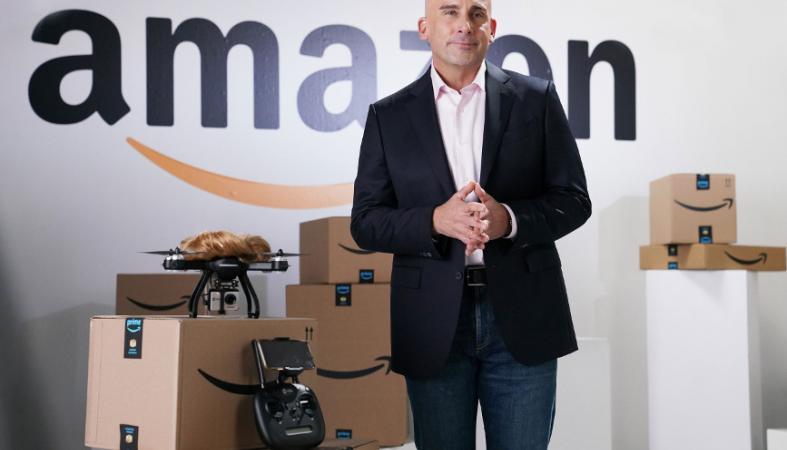Απολαυστικός ήταν ο κωμικός Steve Carell ως Jeff Bezos [βίντεο] - Κεντρική Εικόνα