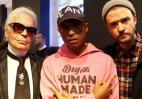 Τρεις διάσημοι άνδρες παρουσίασαν ένα πανάκριβο ζευγάρι sneakers [εικόνες] - Κεντρική Εικόνα