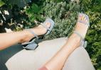 Square toe sandals: Αυτά τα πέδιλα θα τα φορούν όλες φέτος το καλοκαίρι - Κεντρική Εικόνα